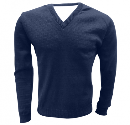 Sweater azul clásico